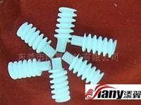 塑胶蜗杆0.6X15X1.9