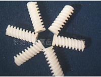 塑胶单头蜗杆