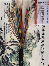HYAC自承式通信电缆5*2*0.4