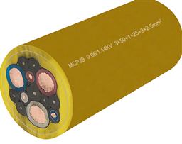 YC-3*25+1*10橡套电缆