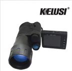 科鲁斯Kelusi **者8x50 高清单筒红外彩色夜视仪 带显示器可拍照录像