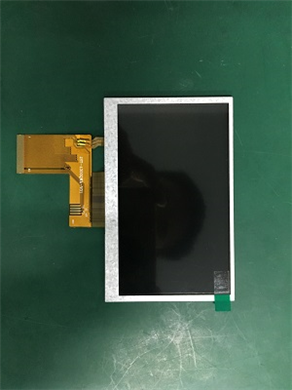 YH043ND4001  4.3寸群创玻璃组装屏