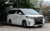 丰田埃尔法租赁埃尔法租车公司深圳到香港租车接送