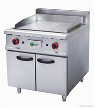 燃气铁板炉连柜座厨具