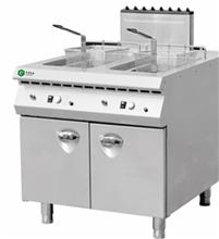 厨房双杠燃气炸炉设备