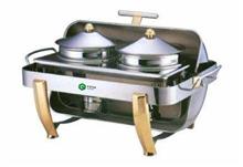 厨房全翻盖双头汤炉餐具