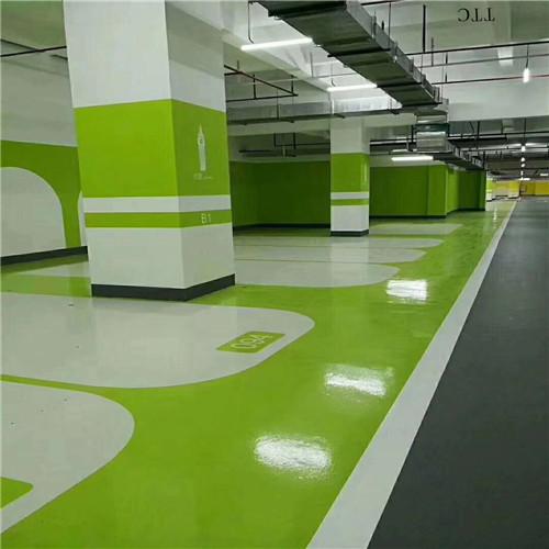 无溶剂地坪涂料、无气味车库地坪漆、无溶剂环氧地坪漆材料