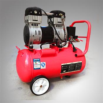 木工噴漆1P小型靜音無油空壓機SLH30