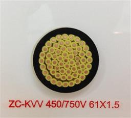 KVVR全塑控制电缆价格