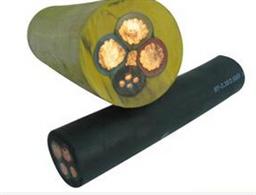 防水电缆jhs-3*25+1*10橡胶软电缆