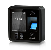 STK-A04指纹刷卡门禁一体机
