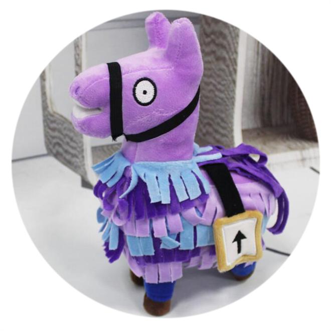 紫色彩虹马