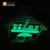 布料水性夜光印花浆环保节能夜光印花材料黄绿夜光涂料