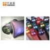 国产变色龙绿紫角度变色颜料玻璃微珠变色粉