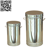 不銹鋼茶葉桶(Stainless steel tea barrel)ZD-CYT01