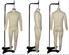 板房制衣模特,人体立裁人台