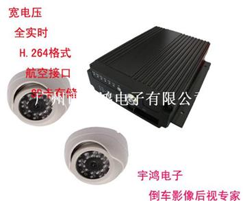 SD卡車載硬盤錄像機系統,公交監控系統HY-MDVR2