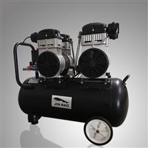 劲豹空压机静音无油小型充气泵牙科家具厂用正品空气压缩机价格