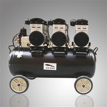 JINBAO品牌SLH120静音无油空压机