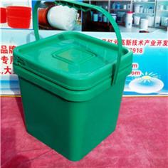 8L方形塑料桶