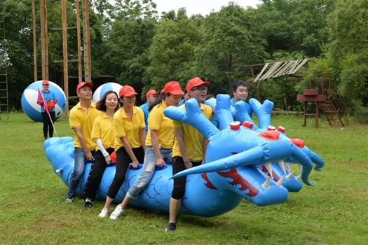 松山湖野炊+公司趣味运动会+松山湖自行车骑行=深圳农家乐周边一日游