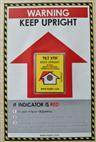 全英文TILT XTR防倒置指示标签