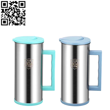 不銹鋼冷水壺、咖啡壺(Stainless Steel Vacuum Coffee Pot)ZD-KFH023