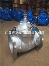 HC300X-25P DN100不锈钢缓闭式止回阀