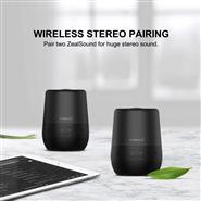 Portable Bluetooth Speaker IPX7 Waterproof, ZealSound 360 Degree Stereo Sound Wireless Speaker, Supe