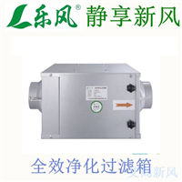 长沙全效净化过滤箱LPM300-10|湖南乐风新风系统|长沙乐风新风机