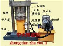 中天榨油机 液压榨油机 芝麻香油机电动香油机