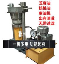 香油机榨油机商用小磨香油机榨芝麻油机流动香油机液压榨油机