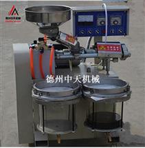 中天新款全自助商用螺旋芝麻榨油机30型螺旋榨油机流动香油 机