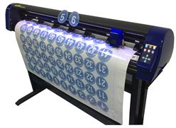 刻豹刻字机CA1350 钻石级3M反光膜 摄像头自动定位巡边切割