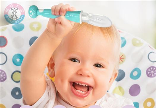 婴儿硅胶勺