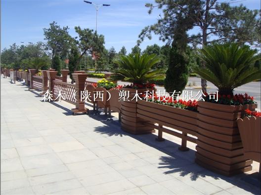 临夏甘南武威塑木护栏栏杆围栏