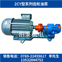 东莞2CY齿轮泵,2CY-8/2.5高温齿轮油泵