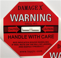 DAMAGE X防损坏警示标签50G
