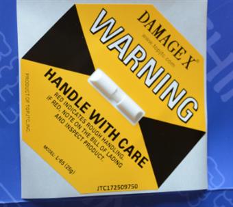 DAMAGE X防损坏警示标签25G