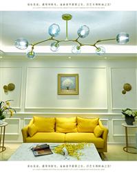 客厅后现代吊灯