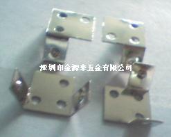五金沖壓彈片加工定做拉伸件開模生產電子配件LED彈片深圳加工廠13924605479