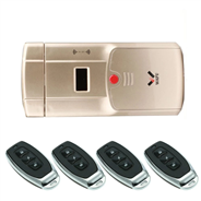 WAFU Wireless Smart Door Lock, Remote Control Lock, Keyless Entry Door Lock,Anti-theft Door Lock wit