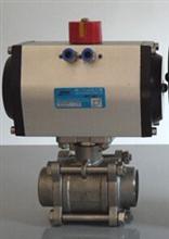 气动焊接球阀Q661H