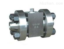焊接高压球阀Q61H