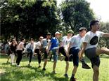 乐湖生态园挑战160秒
