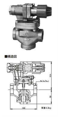 日本阀天RP-7蒸汽减压阀