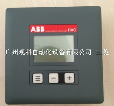 10148027 ABB 功率因数控制器 RVC-3