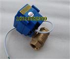 【實物】XJ-15電動銅球閥DN15 4分電壓DC24V二線斷電復位