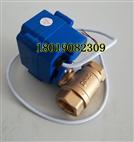 【實物】XJ-15 AC220V電動銅球閥DN15 4分 1/2 AC220V常閉型