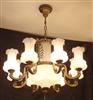 酒店餐厅铜灯15424